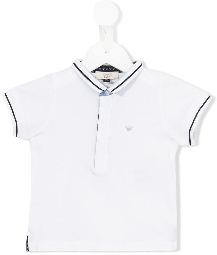 Armani Junior Armani Junior classic polo shirt