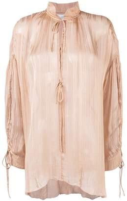 IRO plissé blouse