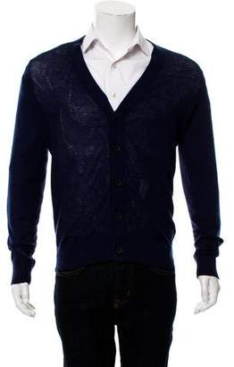 ATM Anthony Thomas Melillo Woven Button-Up Cardigan
