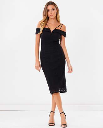 Ada Off-Shoulder Lace Dress