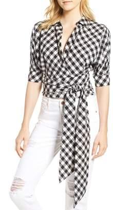 Habitual Arietta Sash Tie Wrap Top