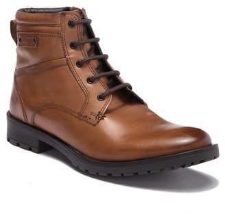 GBX Bomont Leather Plain Toe Lace-Up Boot