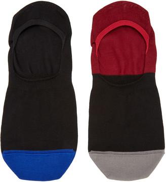Paul Smith Black No-Show Socks $20 thestylecure.com
