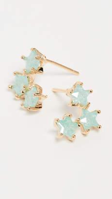 Theia Jewelry Asteria Three Star Stud Earrings