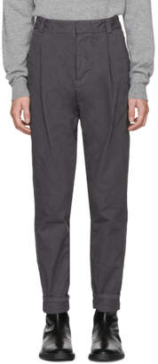 Robert Geller Grey Casual Dress Trousers