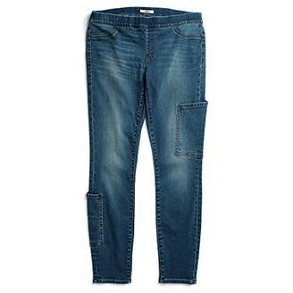 Tommy Hilfiger Adaptive Women's Seated Fit Jegging Jeans with Velcro and Adjustable Hems