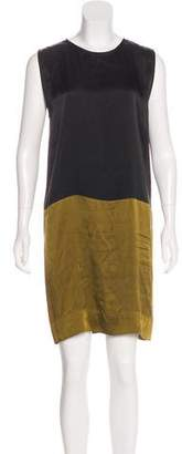 Haider Ackermann Sleeveless Colorblock Dress
