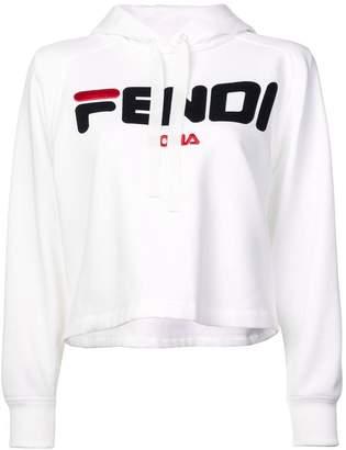 Fendi (フェンディ) - Fendi ロゴ クロップドパーカー