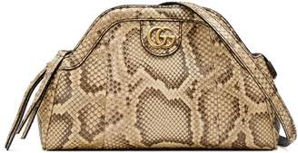 Gucci RE(BELLE) python small shoulder bag
