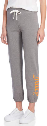 Juicy Couture Gothic Logo Terry Sweatpants
