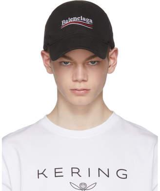 Balenciaga Black Campaign Cap