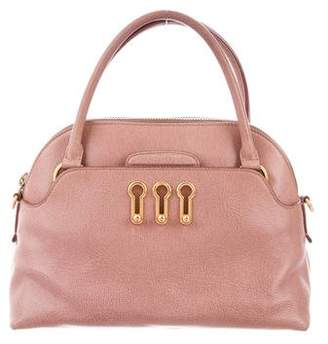Sonia Rykiel Leather Dome Handbag