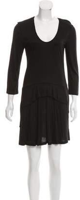 Thakoon Scoop Neck Mini Dress