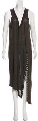 IRO Linen Maxi Dress