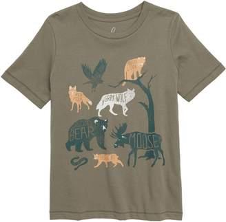 Peeks Glacier National Park T-Shirt