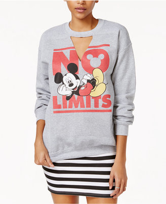 Disney Juniors' Mickey Mouse Graphic Sweatshirt $34 thestylecure.com