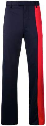 Marni contrast panel trousers