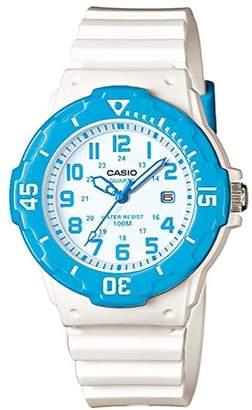 Casio Women's Quartz Watch with Black Dial Analogue Display Quartz Resin LRW 200H 2B