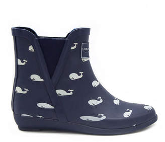 London Fog Womens Piccadilly Rain Boots Waterproof Pull-on
