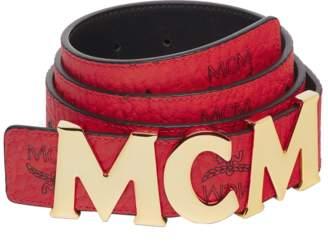 """MCM Letter Belt 1.5"""" In Visetos"""