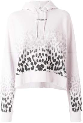 Marcelo Burlon County of Milan faded leopard print hoodie