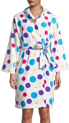 DH Vibe Multicoloured Dot Cotton Robe