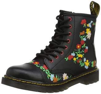 Dr. Martens Kids 1460 Pooch Flower J T Lamper Leather Boots 11 US