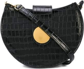 Elleme structured satchel bag