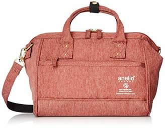 Anello (アネロ) - [アネロ グランデ] ショルダーバッグ GU-H2311 SPS 軽量撥水杢ポリ 口金2WAYミニショルダー ピンク