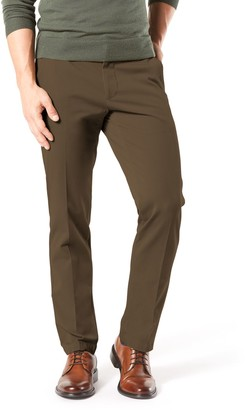 Dockers Men's Smart 360 FLEX Straight-Fit Workday Khaki Pants D2
