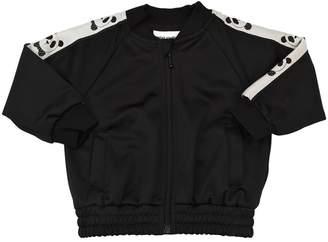 Mini Rodini Panda Printed Jacket W/ Side Bands