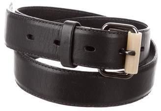 Jason Wu Leather Buckle Belt