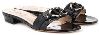 Valentino V Rivet leather sandals