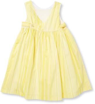 Elephantito Colorblock Stripe Cotton Dress