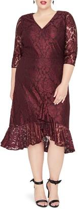 Rachel Roy Parker Lace A-Line Dress