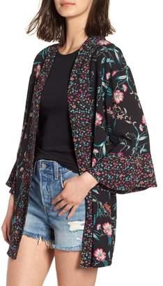 BP Mixed Floral Kimono