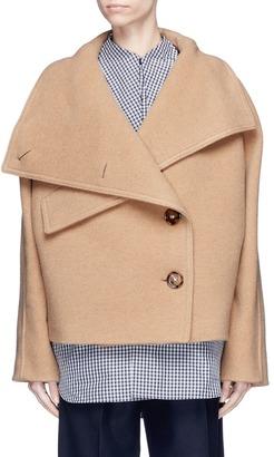 Acne Studios 'Chessa' turtleneck melton jacket