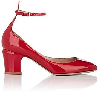 Valentino WOMEN'S TANGO PATENT LEATHER PUMPS - RED SIZE 10