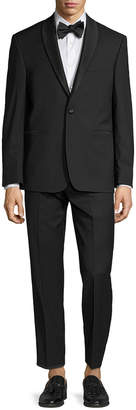 Vince Camuto Wool Solid Shawl Lapel Slim Fit Tuxedo