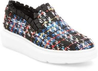 F-Troupe Women's Ruffled Slip-On Sneaker