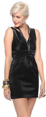 Shimmer Woven Dress