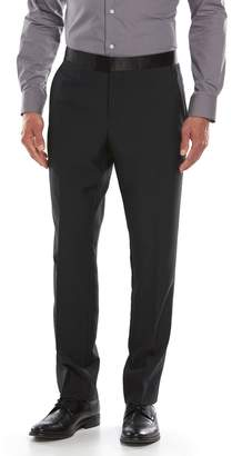 Savile Row Men's Modern-Fit Black Tuxedo Pants