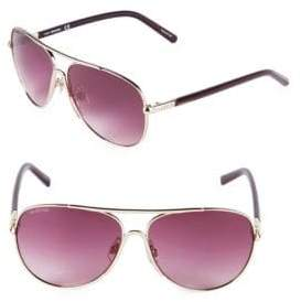 Swarovski 59MM Aviator Sunglasses