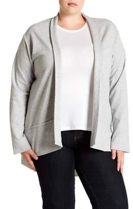 Susina Fleece Cardigan (Plus Size)