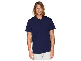 7 For All Mankind Short Sleeve Pique Polo Men's Short Sleeve Pullover