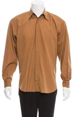 Gianni Versace Woven Button-Up Shirt