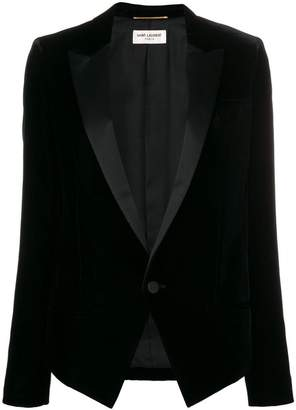 Saint Laurent fitted suit jacket