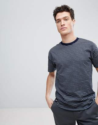 NATIVE YOUTH Dropped Shoulder Stripe T-Shirt