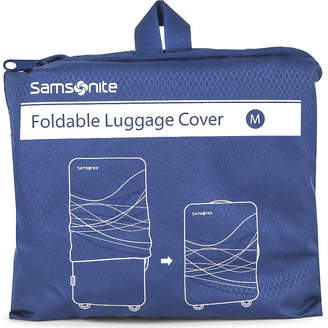 Samsonite Foldable luggage cover medium $27.50 thestylecure.com