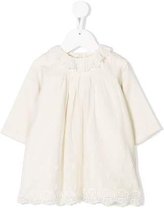 Bonpoint patterned lace dress